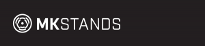 Image of MK Stands logo mark and text